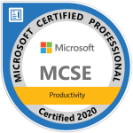 MCSE-Productivity - Click to Verify